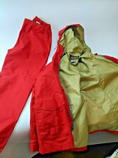 Vintage Eddie Bauer Gore Tex Rain Jacket Plus Pants