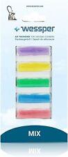 Wessper® Duftstäbchen Deo Sticks Lufterfrischer Duft für alle Staubsauger 5 Stk.