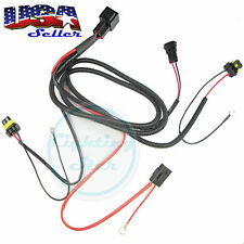 Xenon HID Conversion Kit Relay Wiring Harness 9005 9006 9145 HB3 HB4, 35W or 55W