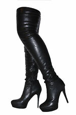 Zip Women's Synthetic Leather Boots