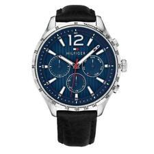 New Tommy Hilfiger Gavin Mens Designer Chronograph Tachymeter Watch 1791468