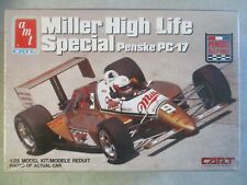 1/25 SCALE MILLER HIGH LIFE SPECIAL PENSKE PC-17 MODEL KIT BY AMT MINT IN BOX