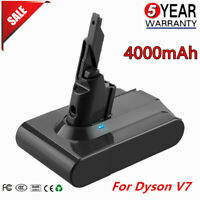 21.6V 4000mAh Li-ion Battery Replacement for Dyson V7  V7 Animal Vacuum Cleaner