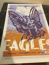 The Eagles 2008 24x15 Original Poster Little Rock, Arkansas