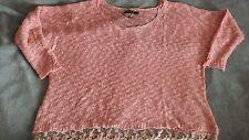 Women's QED LONDON jumper pink color size  L/XL