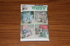 Simplicity 9243 Pillows Design Your Own Easy Square Neck Sewing Pattern UNCUT