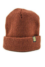 ANTI HERO BLACK HERO CUFF BEANIE BROWN