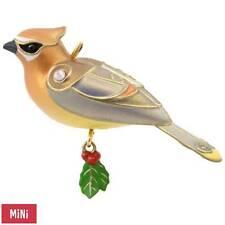 Hallmark 2017 Cedar Waxwing Miniature  Ornament