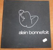 Livre Alain Bonnefoit