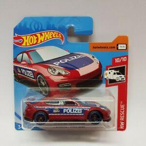 Hot Wheels -  Porsche Panamera Rescue 10/10 FYC86 100/250 NEU & OVP