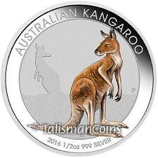 Australia 2016 Kangaroo Melbourne Money Expo ANDA Coin Show Special 50¢ Silver