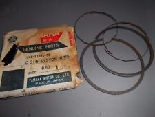 NOS Yamaha 2nd O/S .50 Piston Ring Set 1968-70 DT1 214-11601-22