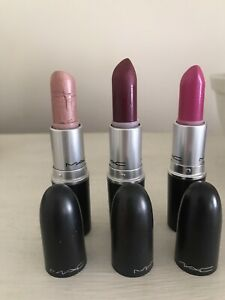 Mac Cosmetics Lipsticks - Various Shades - See Description