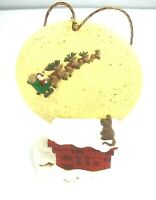 Hallmark Collector's Club Keepsake Holiday Ornament 1997 Happy Christmas To All