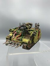 071920 Warhammer 40k Chaos Space Marine Rhino Nurgle Death Guard Converted Paint