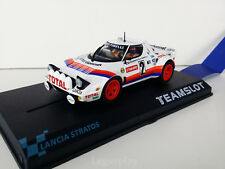 "Slot SCX Scalextric Team Slot 11513 Lancia Stratos ""Tour de France '80"" Darniche"