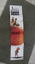 James and the Giant Peach poster -  growth chart poster British Promo poster