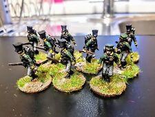 28mm napoleonic Prussian skirmishes x9