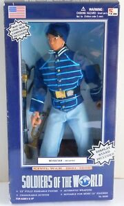 """Soldiers of the World Civil War 1861-1865 Musician Infantry 12"""" Figure NIB"""