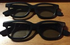 "VINTAGE 3D GLASSES "" REAL D 3D"" BRAND  TWO PAIR"