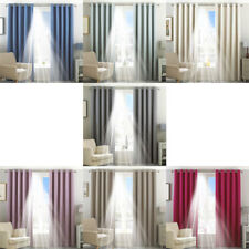 Paoletti Eclipse Blackout Eyelet Lined Curtains