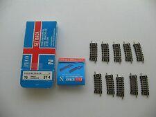 PECO Setrachage System ST-9 gebogene Gleise 4,5 cm ST-4 neu Konvolut Weiche schi