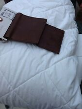Mans Brown Leather Wallet