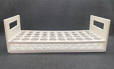 Laboratory Plastic 40 Place 21mm Diameter White Test Tube Rack