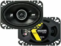 "Kicker DS Series 4x6"" 2-way Coaxial Car Speakers - 43DSC4604"