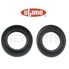 Pair Set of 2 Axle Shaft Seals for Acura Integra Honda Civic Manual Transmission