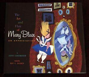 Art and Flair of Mary Blair BOOK 2003 1st Ed / 1st Printing Roy E Disney