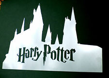high detail airbrush stencil harry potter castle  FREE UK POSTAGE