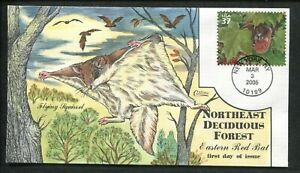 2005 New York Northeast Deciduous Forest Flying Squirrel Collins FDC