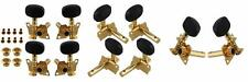 BQLZR Gold-Plated 2R2L Tuning Peg Machine Head Tuners For Ukulele 4 String...