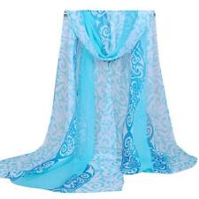 Fashion Women Retro Palace Floral Print Long Soft Scarf Wrap Shawl Scarves Stole