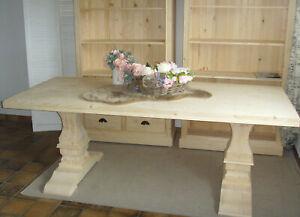 Tisch Esstisch Klostertisch Massivholz  massiv Fichte direkt aus Schreinerei
