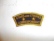 c0032 WW 2 US Army ORIGINAL Stars and Stripes Correspondent Patch R10B