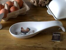 FARMERS MARKET Cockerel CERAMIC SPOON REST By Creative Tops