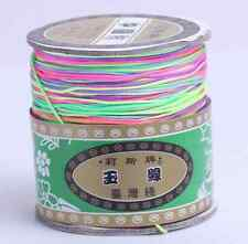 black white 1.5mm 175yard Chinese Knotting Nylon Shamballa Bracelet Cord String