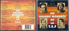 CD GRANDS MOMENTS DE LA T.S.F. 20T MARJANE/BAUGE/BORDAS/DAMIA/LYNEL/THILL/PILLS