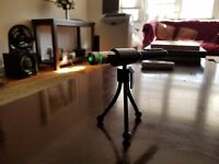 Paranormal equipment RED laser grid pen with holder + tripod, FULL KIT 2019 5 MW