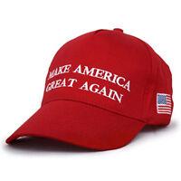 PT_ LK _ ROSSO Make America Great Again LETTERE cappello DONALD TRUMP REPUBBLI