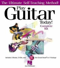 NEW - Hal Leonard Play Guitar Today! - Complete Kit (Book/CD)