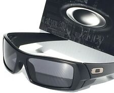 NEW* OAKLEY GASCAN Matte BLACK w Grey lens Sunglass $140 03-473