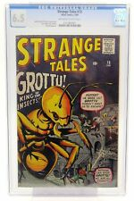 Strange Tales # 73 CGC 6.5 Grottu! King of the Insects! Atlas Comics 2/60 Silver