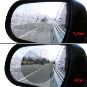 Car Anti Water Mist Film Anti-Glare Rainproof Rearview Mirror Protective Sticker