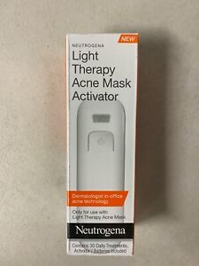 Light Therapy Acne Mask Activator (Expiration End Of 2018) NEW Factory Sealed