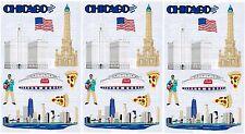 Mrs Grossman's CHICAGO Travel Scrapbook Stickers 3 Sheets Windy City