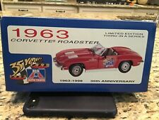 Revell 1:24th 1963 Chevy Corvette Roadster Big A Auto Parts 35 Years Unopened !!