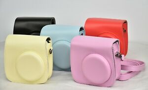 FUJIFILM INSTAX GROOVY CAMERA CASE For Mini 8 / 8+ / 9, Leather, Choose Color